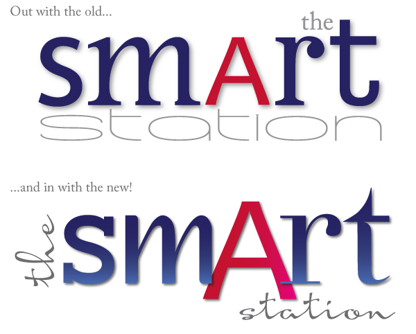 new logo for The Smart Station